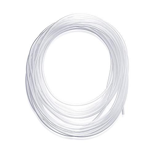 Manguera de tubo de PVC transparente de 10 metros, tubo de p