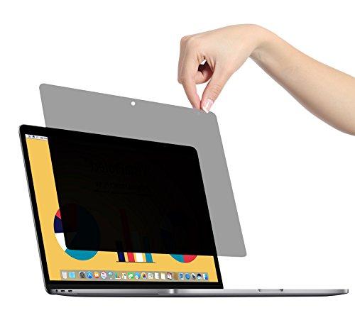 VistaProtect - Filtro de Privacidad Premium, Fácil de Quitar y Volver a Colocar en su Lugar. para Apple MacBook Pro 13 (Fin de 2016-2018) & MacBook Air (2019)