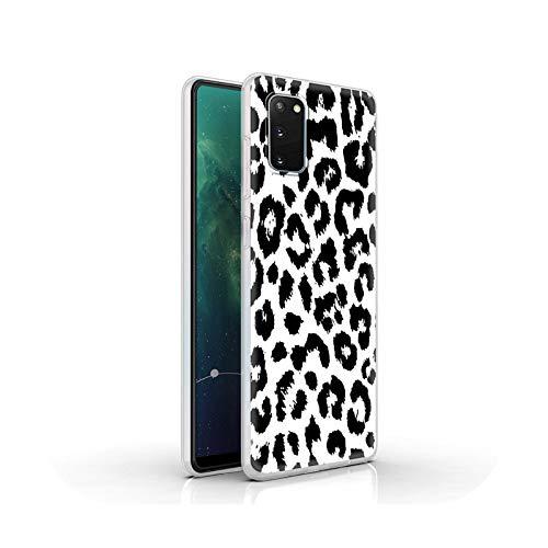 who-care Funda blanda esmerilada para Samsung Galaxy S20 Fe S10 Lite S10E S9 S8 S20 Ultra 5G Plus Teléfono Coque Funda Estampado Leopardo-S10-Para Samsung S7 Edge