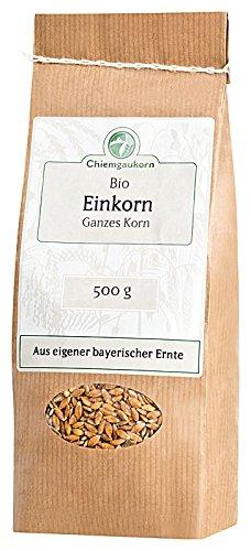 Chiemgaukorn Bio Einkorn Ganzes Korn 500 g