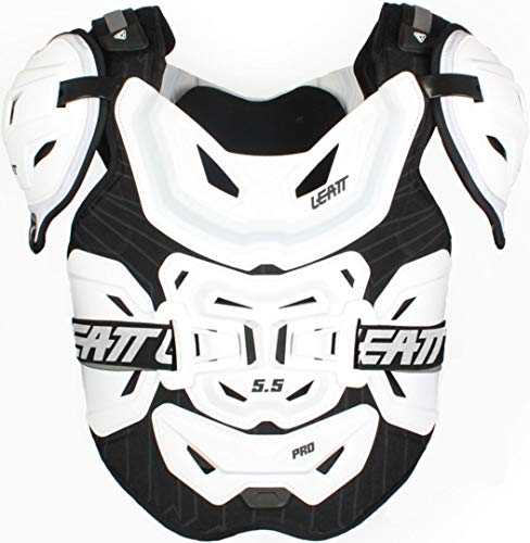 Leatt 5.5 Pro Chest Protector-White-Adult