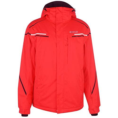 Nevica Herrens Meribel Ski Jacke Skijacke Rot/schwarz L