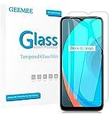 GEEMEE Protector de Pantalla para OPPO Realme C11/C3/5/5i/6i Cristal Templado Película Vidrio Templado 9H Alta Definicion Glass Screen Protector Film Clear -2 Pack