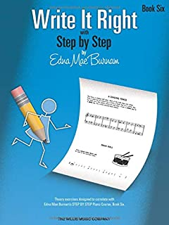 Write it Right with Step by Step - Book 6