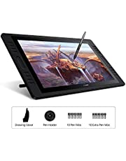 Huion KAMVAS Pro 20 (2019) 19.6 inch Graphics Drawing Monitor with Battery Operated Tilt 8192 Pen Push Tablet with 16 Push Buttons HD (1920 x 1080) Pencil Screen for Windows and Mac.