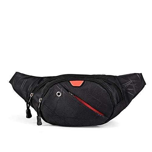 Hombres Mujeres Outer Sport Running Ciclismo Senderismo Bolsa Casual Funcional Fanny Bag Cintura Bolsa Money Teléfono Bolsa Bolsa Bandalina Paquete de cinturón (Color : C001)