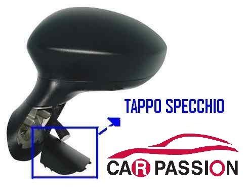 Car Passion–Telo protettivo cappuccio della penna per esterni Specchietto Retrovisore sul lato passeggero, adatto per Fiat Grande Punto 05, Fiat Punto Evo, Fiat Punto My 2012