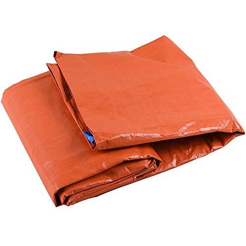 JD Bug dikker dekzeil waterdicht dekzeil tent Junction zon schaduw zonneklep vizier externe isolatie regen val cover covers oranje doek 160g / m2 (grootte: 8 * 12m)