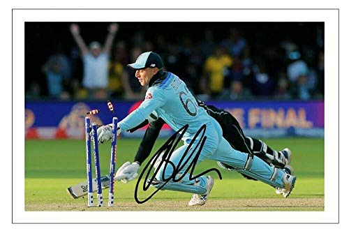 DW Jos Buttler - England 2019 Cricket World Cup Autograph Signed 6x4 Photo