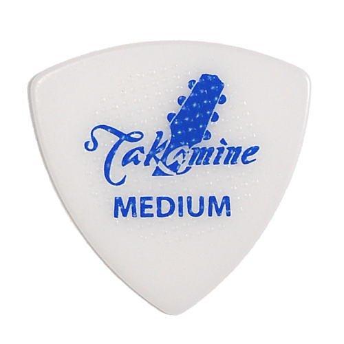 Takamine ピック×10枚 トライアングル MEDIUM-WHT