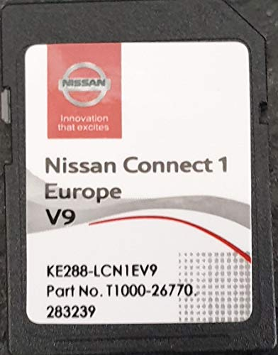 SD Karte GPS Europe 2019 V9 - Nissan Connect 1 - Database Q3.2017