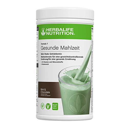 HERBALIFE NUTRITION Nutritional Shake Mix F1 Mint & Chocolate 550 g