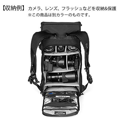 【国内正規品】 tamrac カメラバッグ ナガノ 12 バックパック チャコール 小型一眼/ミラーレス収納 12L T1500-1719