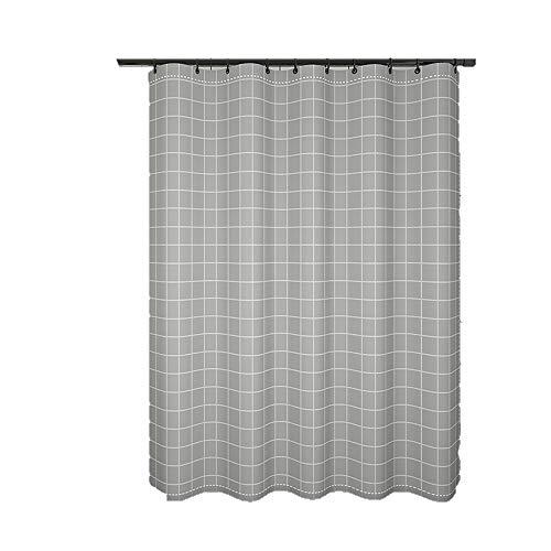 Shower Curtains Das Bad Plane eignet Sich for das Bad Vorhang die Toilette Trennwand abzuschneiden und Mehltau verhindern (Color : B)