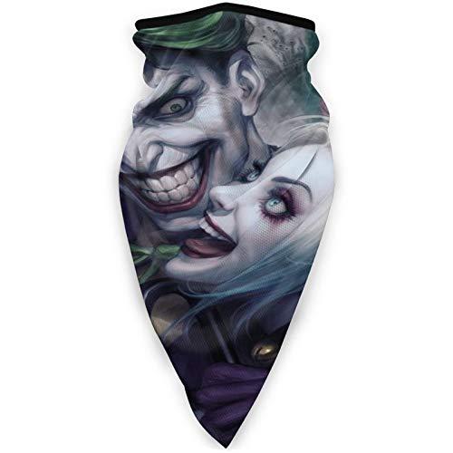 Harley-Quinn Máscara resistente al viento, transpirable, máscara extra suave para motociclismo, correr, ciclismo para hombres y mujeres