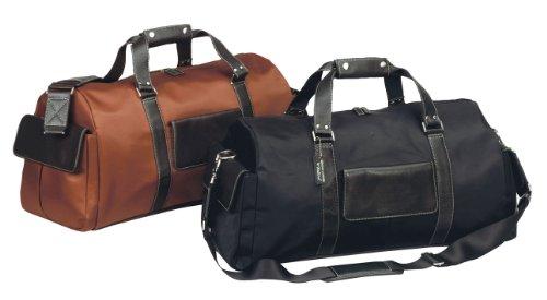 The Italian Carry-on Weekend Travel Duffel Bag -BLACK