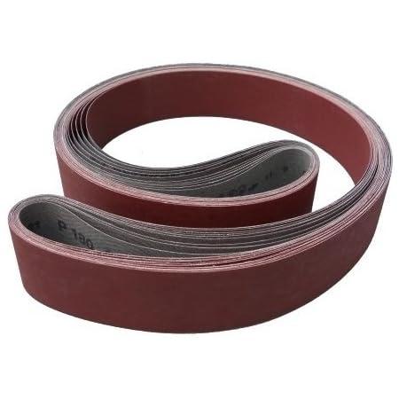 K/örnung: A160 P120 50 x 1020 mm 1 St/ück 3M Trizact 337DC CF Schleifband f/ür Stahl und Metall