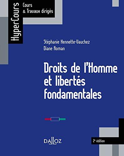 Droits de l'Homme et libertés fondamentales - 2e éd.