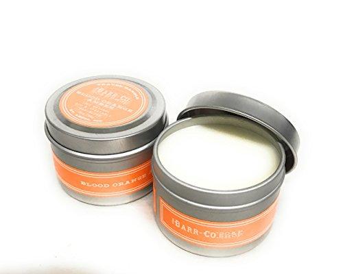 Barr Co Travel Candles in Jar Set of 2 (Blood Orange) (2oz)