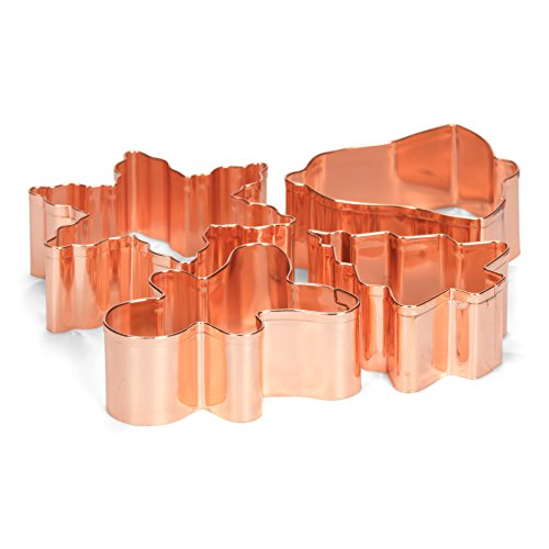patisse Set Emporte-pièces 02019 – Noël, Acier Inoxydable, Argent, 10 x 10 x 10 cm, 4 unités