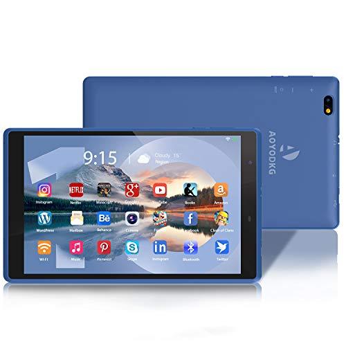 Tablet 8 Pollici,3 GB RAM + 32 GB ROM/128GB, Android 10.0 Certificato da Google GMS Tablet Pc,800 * 1280 IPS, WiFi | Bluetooth(Blu)