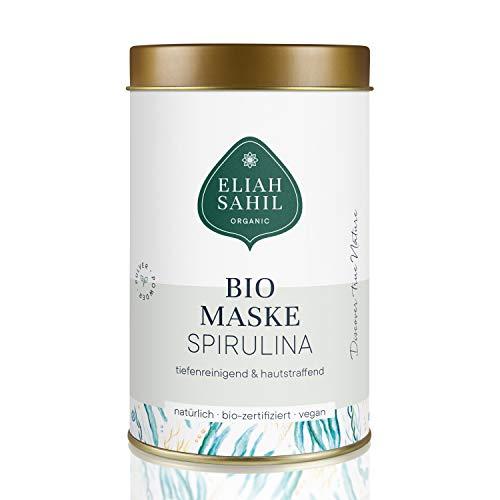 BIO Spirulina Gesichtsmaske I Komplett Plastikfrei I Tiefenreinigende Algen Maske I ZERO WASTE