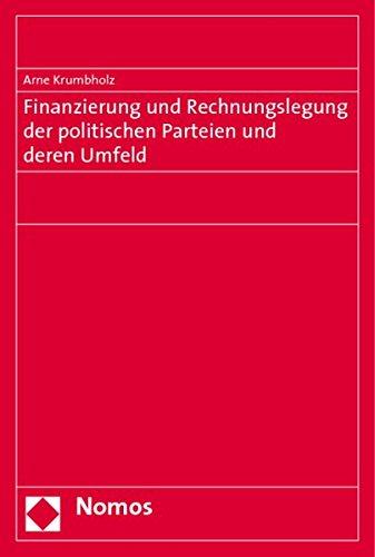 Finanzierung und Rechnungslegung der politischen Parteien und deren Umfeld