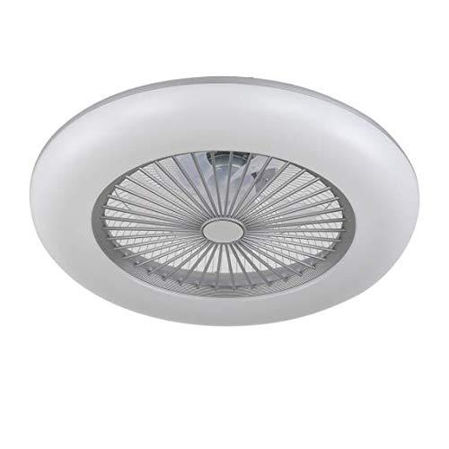 AkunaDecor, nuevo plafón ventilador de led dimable acabado blanco, venta online.