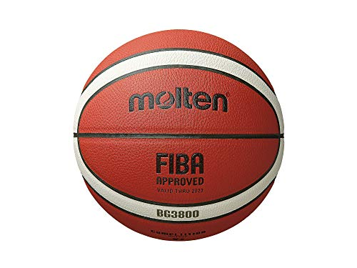 Purchase Molten BG Series Basketball (B6G3800) Composite Leather FIBA Approved Size 6