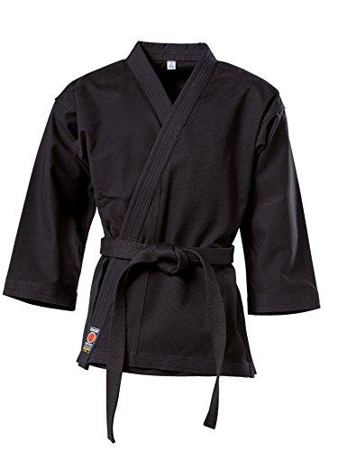 Karate Karate Jacke Traditional schwarz, 8 oz Größe 180 cm