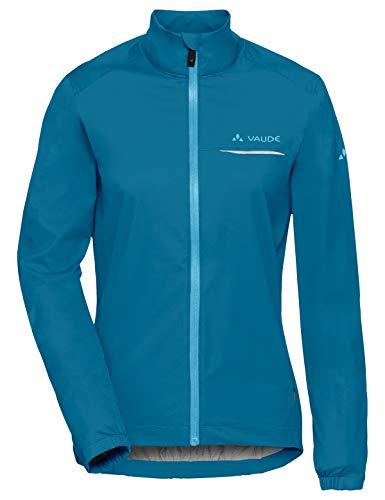 VAUDE Damen Strone Jacket Regenjacke für den Radsport, kingfisher, 44, 408033320440