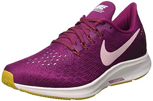 Nike Damen WMNS Air Zoom Pegasus 35 Laufschuhe, Rot (True Berry/Plum Chalk/Vapste Grey 606), 37.5 EU