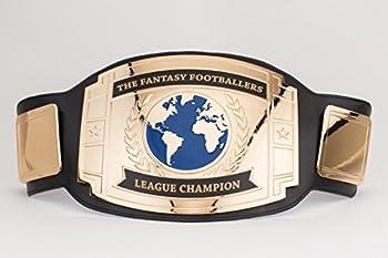 FANTASYJOCKS Custom Championship Belt Trophy  Black/Gold