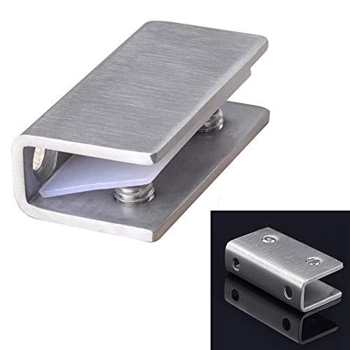Abrazaderas de cristal, 8 – 12 mm, acero inoxidable, soporte de pinza...