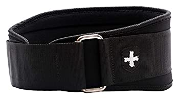 Harbinger 5-Inch Weightlifting Belt with Flexible Ultra-light Foam Core Black Small  24 - 29 Inches