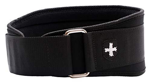 Harbinger 5-Inch Weightlifting Belt with Flexible Ultra-light Foam Core, Black, Large (33 - 37 Inches)