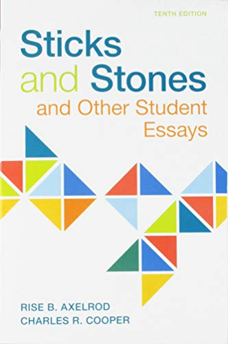 Sticks & Stones: And Other Student Essays