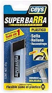 CEYS 4572B140 Reparador masilla epoxi plasti, Azul, 0