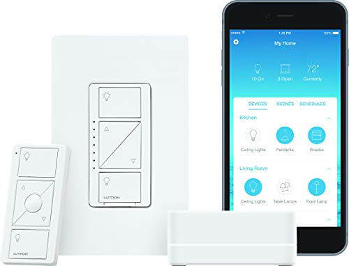 Lutron Caseta Dimmer + Hub for $71