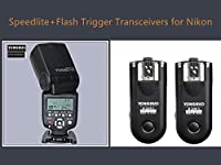 YonNuo YN 560 IIIワイヤレスフラッシュスピードライト+ニコンカメラ用RF 603 II N 3フラッシュトリガー