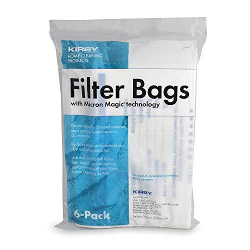 Panno Kirby Sentria F. Pacco da 6 sacchi in stoffa ipoallergenica + cintura