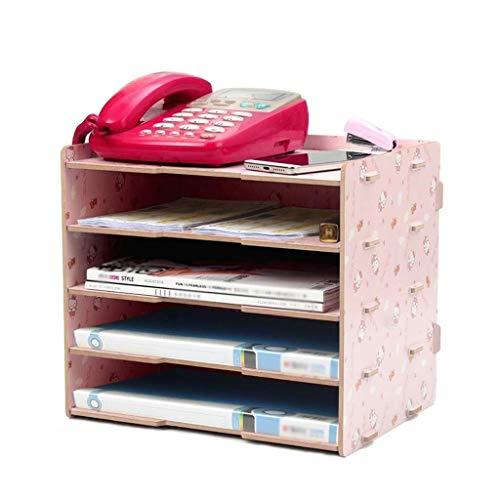 ordner met lade, map, voor doek, kantoor, tidy, opbergkast, bureau, vulling, houder, tablet, organizer, magazijn, bestand - 34 x 25 x 28,5 cm A1