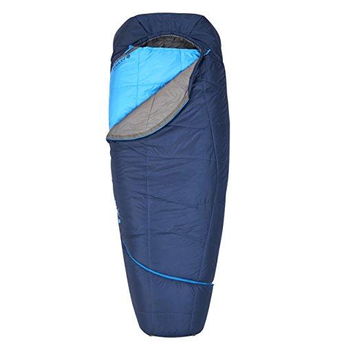 Kelty TRU Comfort 35 Degree Sleeping Bag, Long, Twilight/Classic Blue