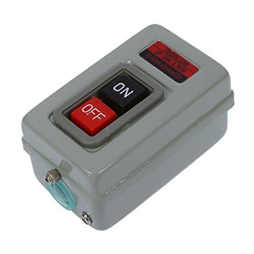 Gaoominy TBSN-330 ENCENDIDO/APAGADO 3 Fases Interruptor de boton Auto bloqueo 30A 3.7KW