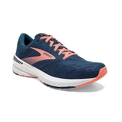 Brooks Ravenna 11, Zapatillas para Correr para Mujer, Majolica Navy Desert, 36.5 EU