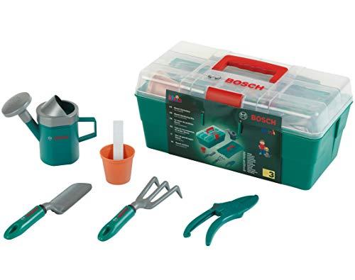 Theo Klein-2791 Bosch caja de herramientas de jardín, juguete, Multicolor (2791)