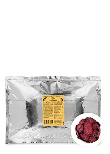 KoRo - Bio rote Beete Chips 200 g - Gemüsechips crunchy und ohne Fett - Perfekter Snack