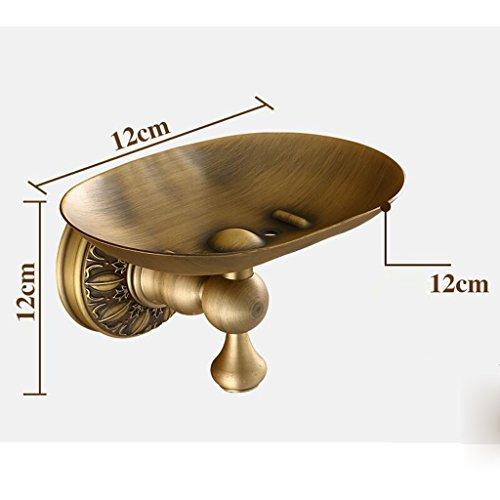 Matériel de cuivre Retro Ovale Porte-Savon Salle de bain Matériel Pendentif Rollsnownow