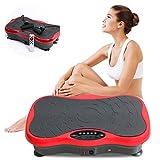 YQZ Fitness Vibration Plattform, Körper Vibration Plattform Massagegerät, Gewichtsverlust Gerät mit Musik Vibration Bluetooth