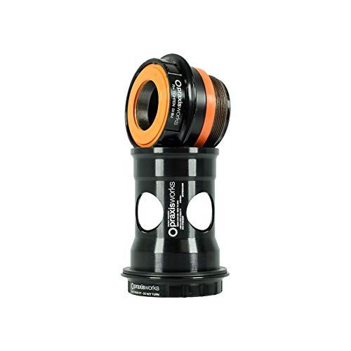 PRAXIS PEDALIER CONVERSOR 73mm MTB SHMN CONVBB30/PF30 R-Collet 73-3001R, Adultos Unisex, Negro, Estandar